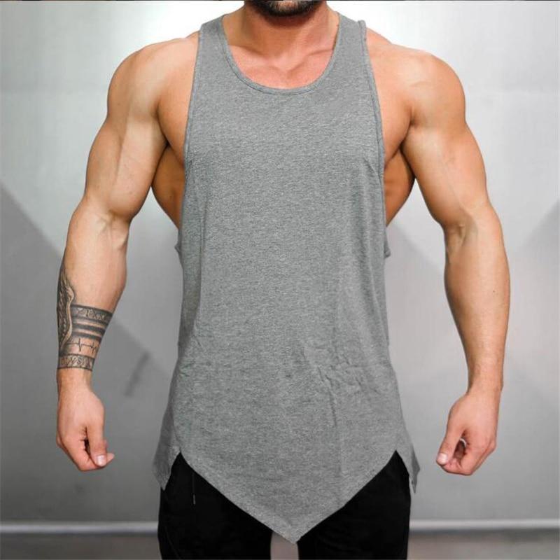 Muscleguys Brand fitness clothing gyms   tank     top   men canotta bodybuilding shirt singlet tanktop plain vest sleeveless undershirt
