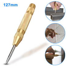 цена на 1/3Pcs 5Inch Automatic Center Pin Punch Spring Loaded Marking Starting Holes Tool WWO66