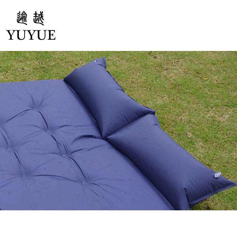 5cm Thick Double Resident Mattress For 2 Person Outdoor Camping Tent Air Bedding For The Air Mat For Beach Colchoneta Camping 1
