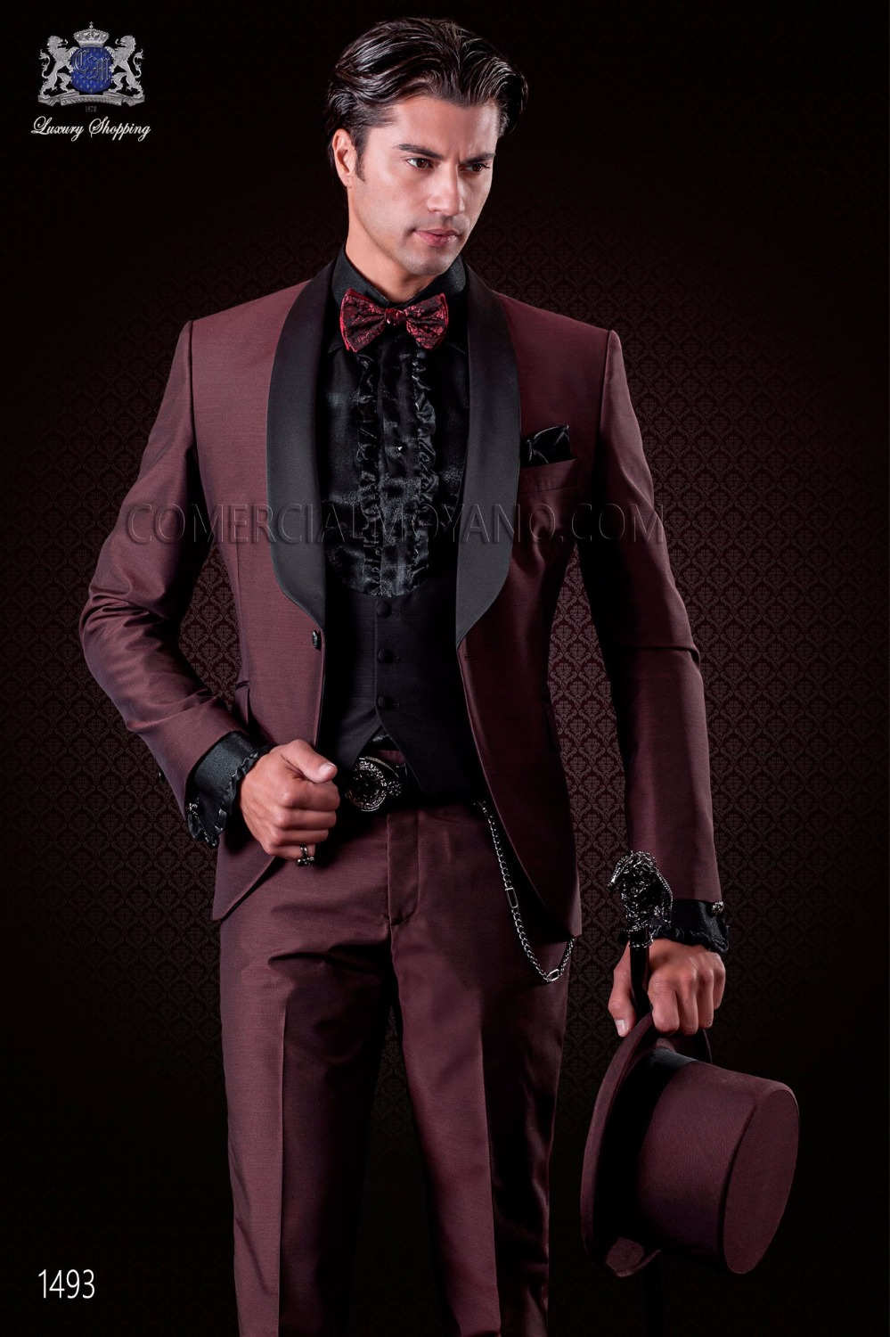 Latest Coat Pant Designs Italian Burgundy Wedding Suits For Men Slim Fit 3 Piece Tuxedo Custom Groom Prom Blazer Terno Masculino