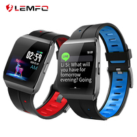 LEMFO X1 Smart Watch Color Screen IP68 Waterproof Smartwatch Heart Rate Blood Pressure Monitor Bracelet For Android IOS