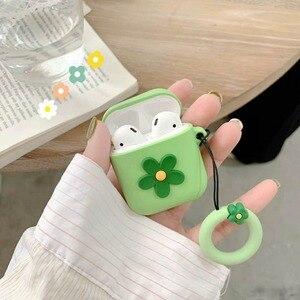 Image 5 - TPU Auricolare Custodia In Silicone Per Apple AirPods Cuffie Custodie Del Sacchetto di Aria Baccelli Portatile Anti colpo di Protezione Della Copertura del Sacchetto