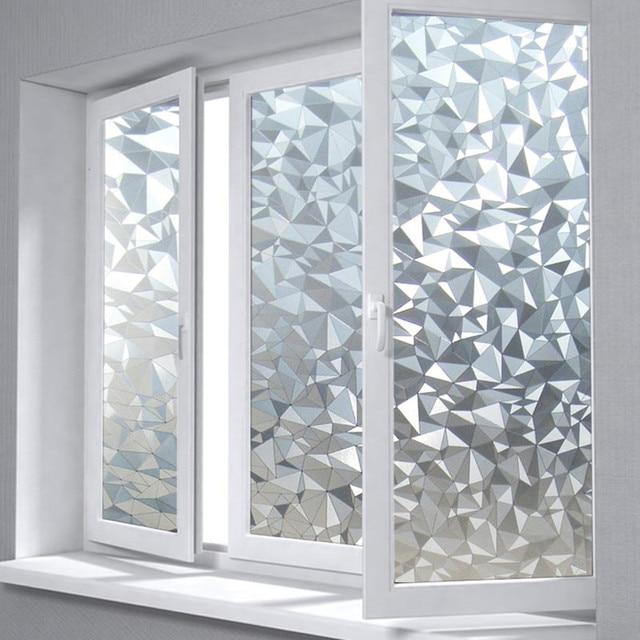 Fenster Undurchsichtig aliexpress com polygon form undurchsichtig statische glasfenster