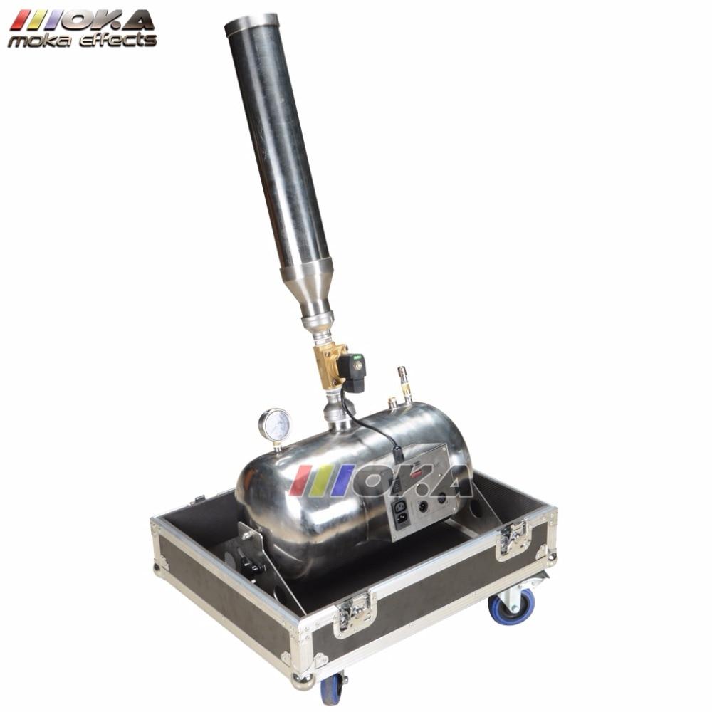 цена на Big color paper machine electric wedding Shooter confetti machine Launcher Confetti Cannon for Stage Show Spray 15m