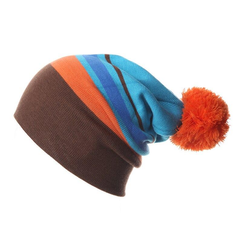 05cef5590930e Lana de invierno cálido snowboard knit patinaje lote lana gorras marca  esquí sombreros skullies gorros para hombres gorros de lana en Los hombres  de ...