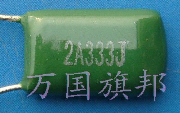 Бесплатная доставка. Полиэфирный конденсатор CL11 100 в 333 мкФ 2 a333 4 юаня 0,033 только