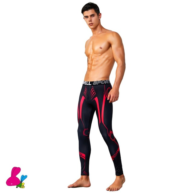 c526abfb39255 Men Compression Pants Sports Running Tights Jogging Soccer Basketball  Leggings Fitness Gym Clothing Trousers Shorts Bodybuilding