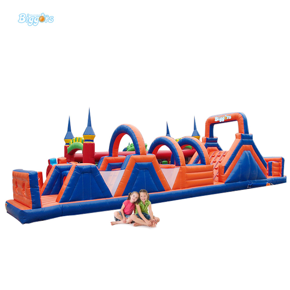 Inflatable Obstacle Army Kids Inflatable Playground Obstacle Course