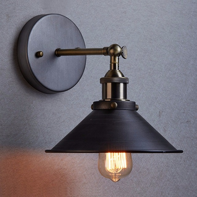 Modern Vintage Loft Adjustable Metal Pendant Light Retro