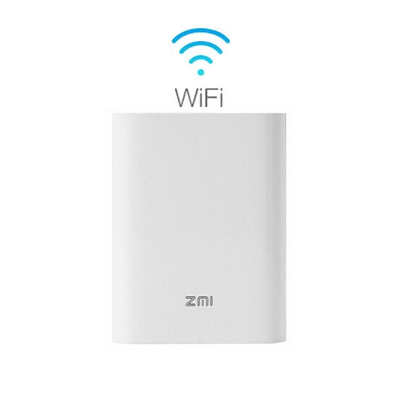 Hotspot sans fil portatif de poche de routeur de Wifi de 3G 4G avec le taux de transfert de WiFi de 125 Mbps routeur de batterie externe de 7800 mAh Xiaomi MF855