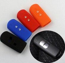 Silicone Car Remote Key Protective Cover Case Shell for 2 Buttons Mazda /M5 / M3/ M6 M8 MAZDA CX-3 CX-5 CX5 cx-7 CX-9 MX5