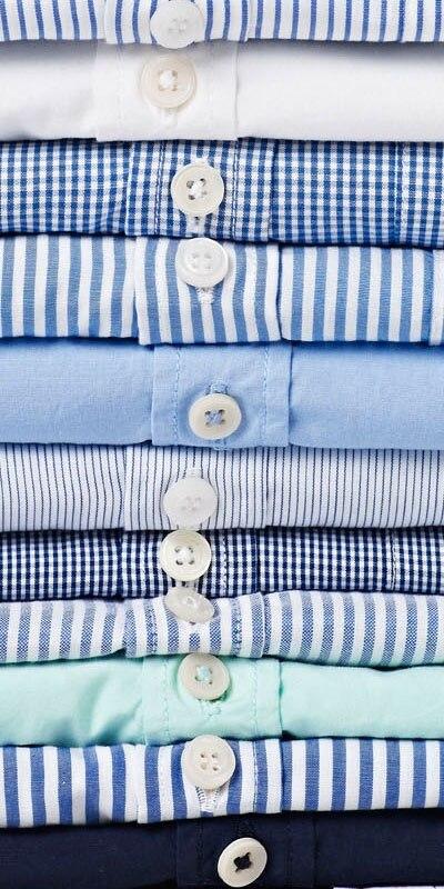 3 chemises habillées pour hommes sur mesure à manches longues, chemise à rayures sur mesure pour hommes, chemise à carreaux sur mesure, chemises habillées pour hommes