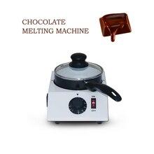 ITOP 40 Вт Мини электрическая машина для плавления шоколада, один горшок, керамический антипригарный горшок, цилиндр для закалки, плавильная сковорода 220 В