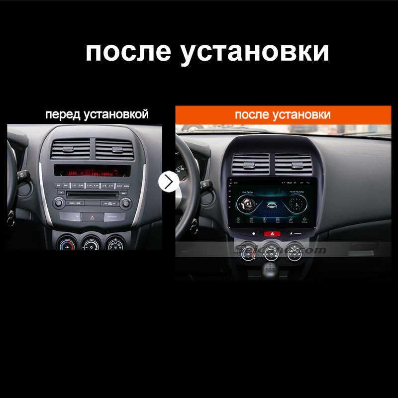 """Seicane 10.1 """"アンドロイド 10.0 車のgps、マルチメディアラジオナビシトロエンC4 2010 2011-2014 2015 三菱asxプジョー 4008"""
