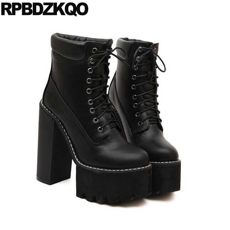 Winter boots fetish