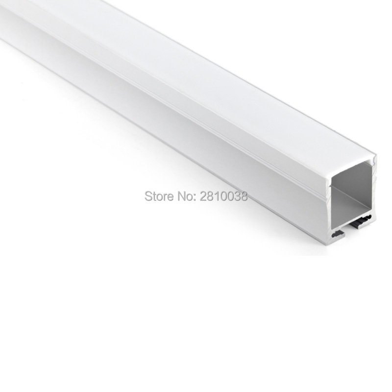 10 X 1M Sets/Lot Aluminium led profile china and U channel aluminium for ceiling or recessed wall lamps