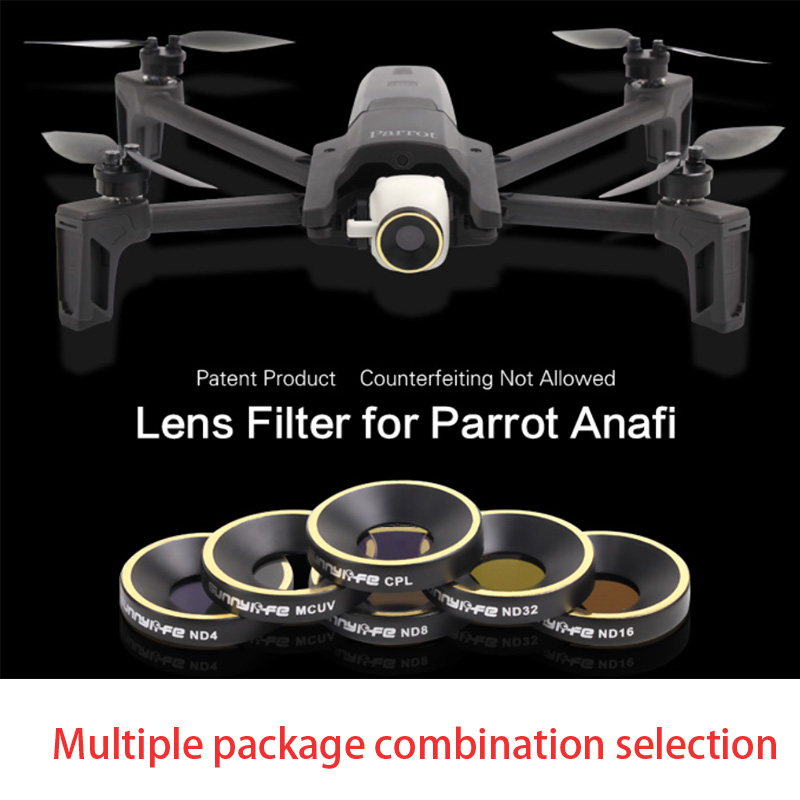 Filter for Parrot Anafi Drone Lens Filters Mcuv Filter Kit Parrot Anafi Drone Accessories for Camera
