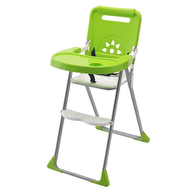 Детское Кресло Для Кормления Пластиковые Складные Анти-Скольжения Booster Младенческой Питание Стульчик Дети Безопасности Стульчик Для Кормления Ужин LunchSeat