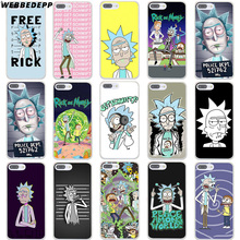 WEBBEDEPP rick and morty 1 Hard Phone Case for iPhone X XS Max XR 7 8 6S Plus 5 5S SE 5C 4 4S Cover