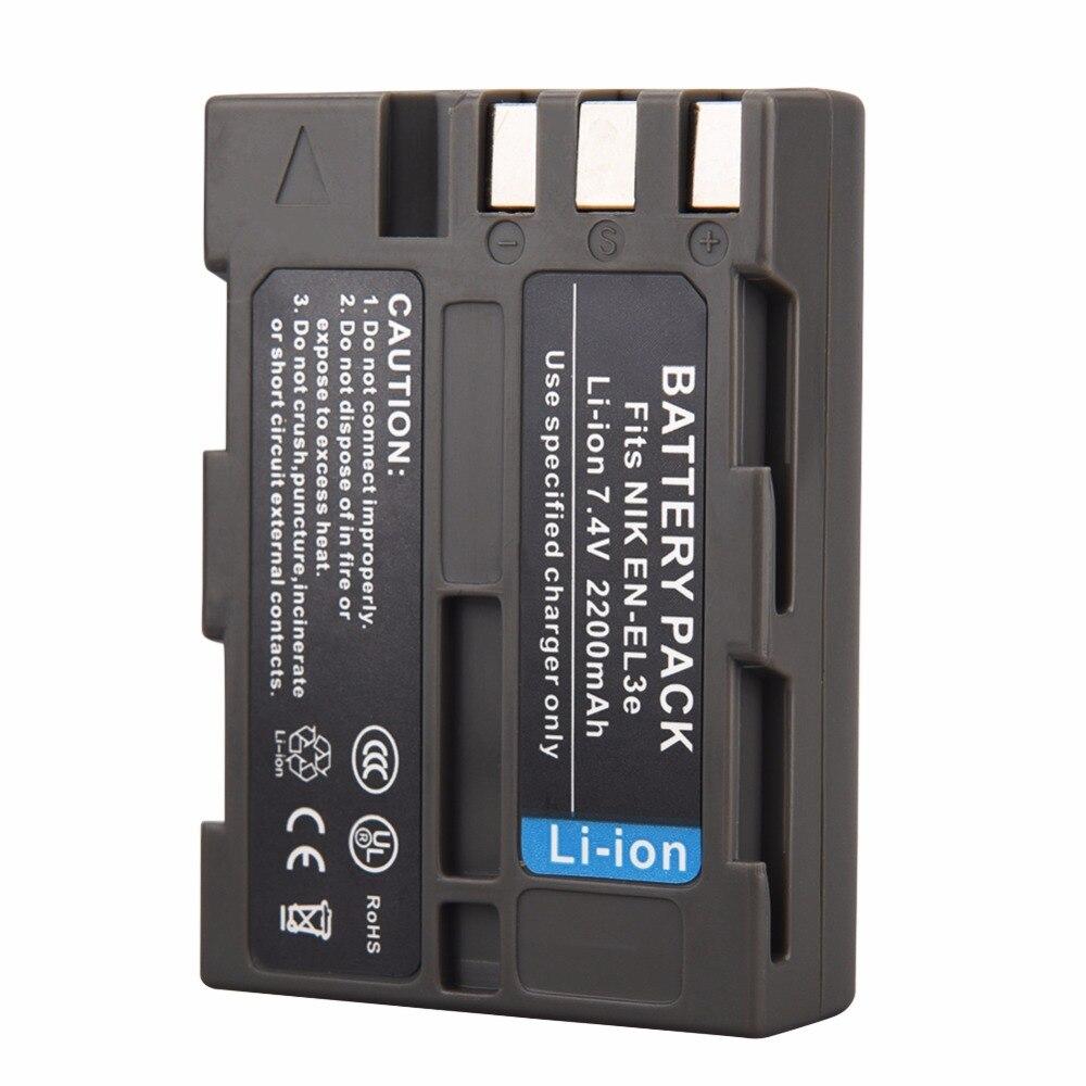 1 stücke EN-EL3E ENEL3E Kamera Akku für Nikon D90 D80 D300 D300s D700 D200 D70 D50 D70 D100 D-100 D-300 D-70 D-90 SLR