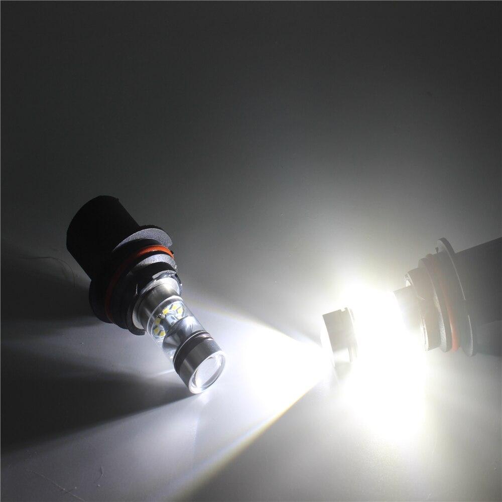 2pcs 100W HB5 9007 LED svjetlo automobila velika snaga prednja - Svjetla automobila - Foto 6