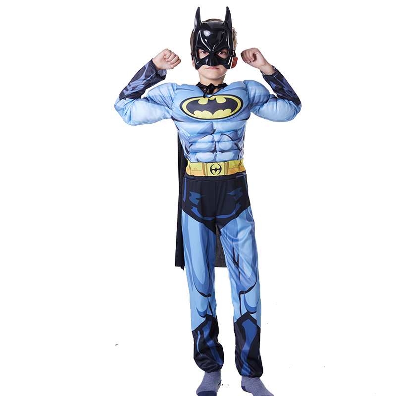 Home Halloween Christmas Role Play Children Spiderman Kids Superman Spider-man Batman Zorro Suit Boys Girls Clothing Sets