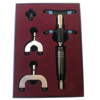 6 Level power adjustable 3 heads intensity Therapy Chiropractic Adjusting Instrument manual chiropractic activator gun