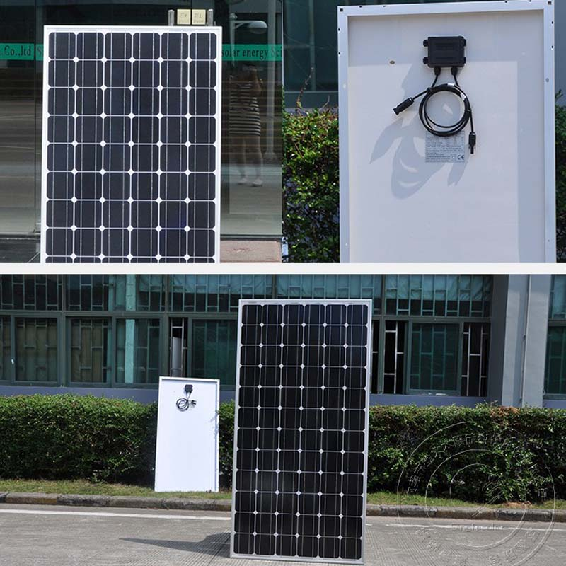 Solar Panel 1000w Solar Battery Charger Photovatics Panels 200w 24v 5Pcs Solar Energy System 1000w 1KW Motorhome Waterproof in Solar Cells from Consumer Electronics