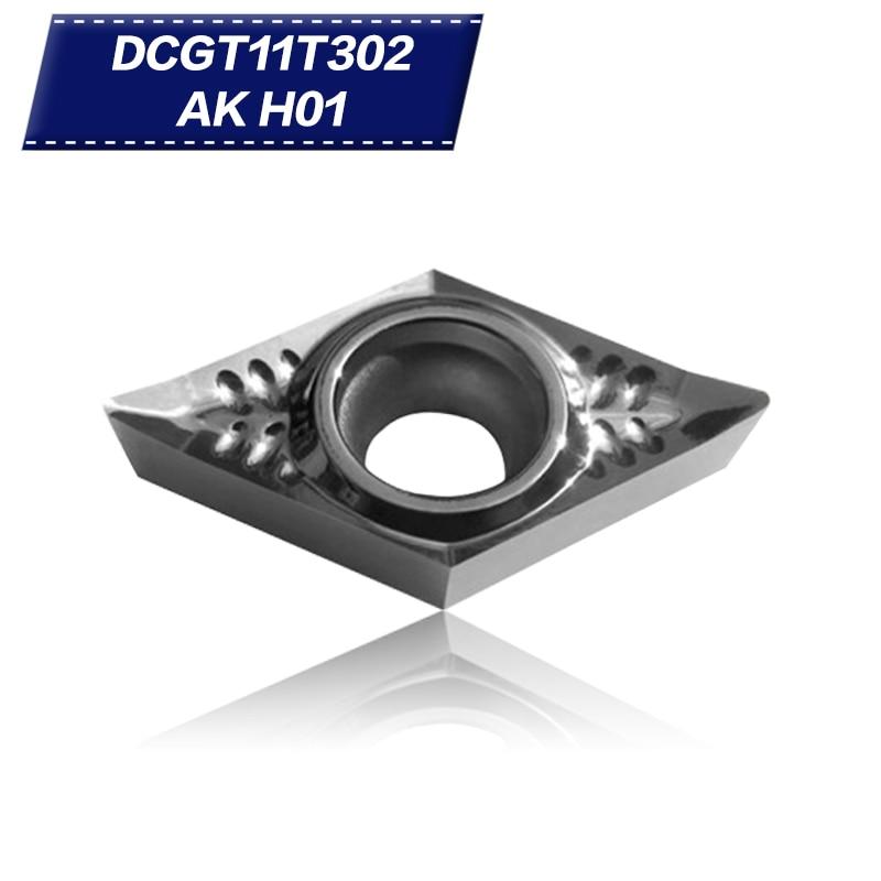 50 db DCGT11T302 AK H01 DCGT32.50.5 alumínium vágópenge - Szerszámgépek és tartozékok - Fénykép 1