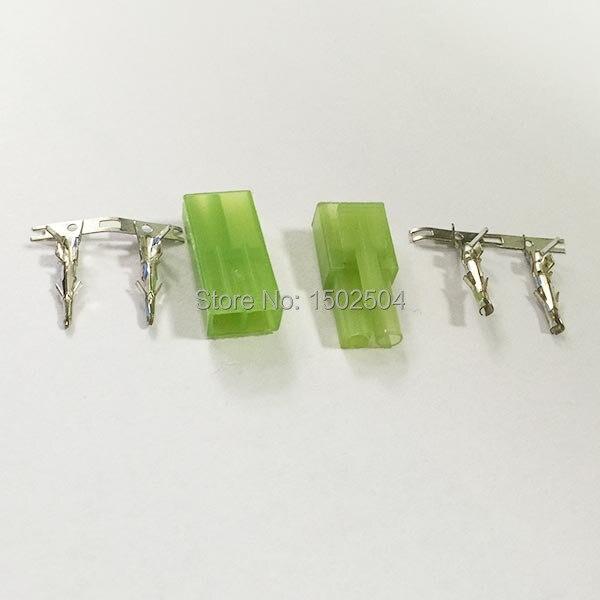 5 Sets RC Model Cable Charger Mini Tamiya Metal Pin Connector Plug Dean
