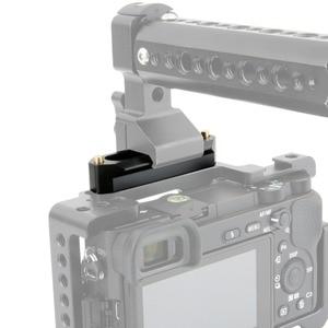 "Image 5 - NICEYRIG NATO Rail NATO Clamp Slide Rail Rig Nato Handle Rail Grip Rig DSLR Camera Cage Clamp Rig 1/4"" Stabilizer Cameras 70mm"
