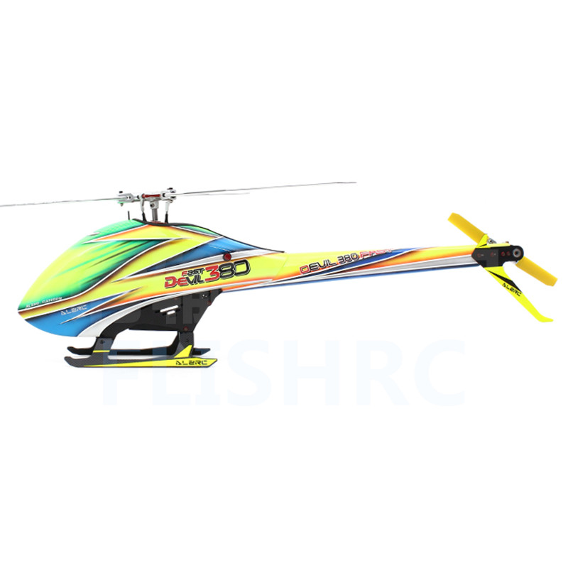 ALZRC Devil 380 FAST TBR KIT Silver RC Helicopter