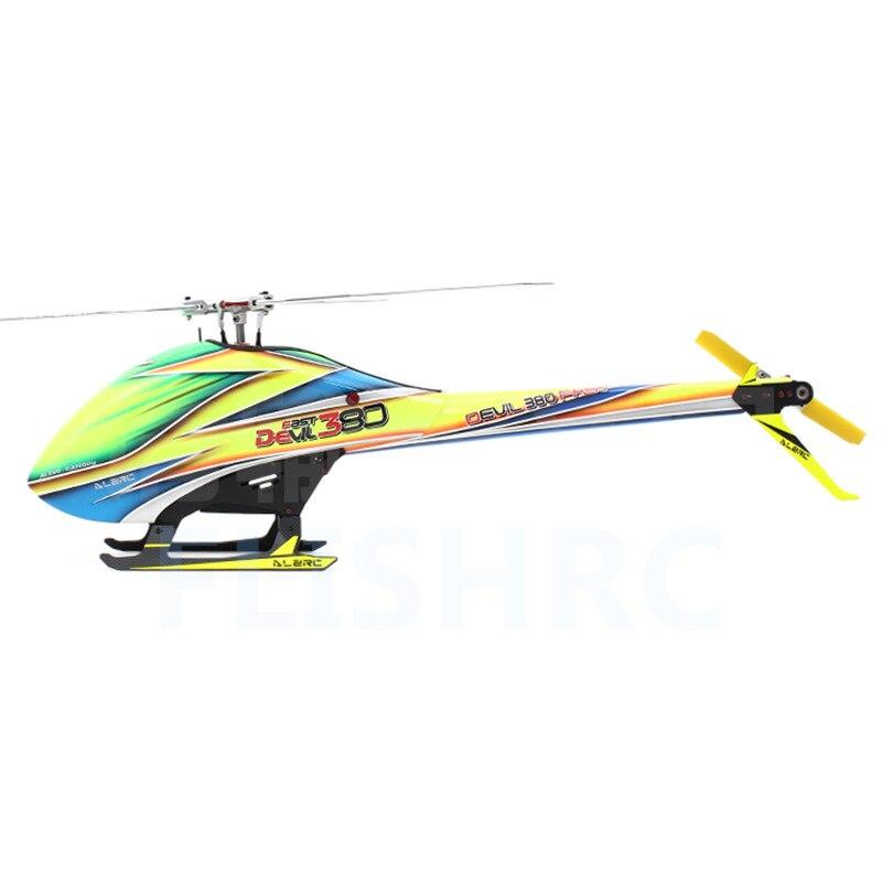 ALZRC-diable 380 KIT TBR rapide-hélicoptère RC argent