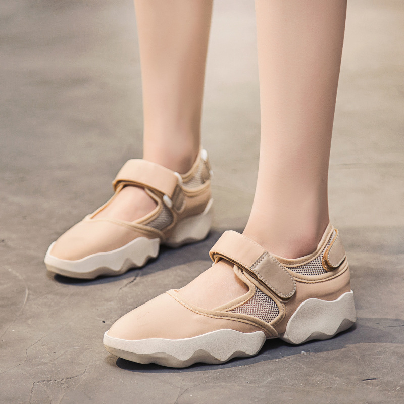Sneakers 2018 color Mesh Casual Dames De Fond 1 1 Mode Vulcanisé Respirant D'été Nvf Épais Chaussures Femmes Daokfpo Color 48 O41wq4d