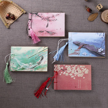 Notebook Journal Office-Stationery Chinese Cute Diary Wind-Handmade Wireboard Creative