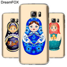 DREAMFOX L083 muñeca rusa suave TPU funda de silicona para Samsung Galaxy Note S 6 7 8 9 10 10e lite Edge Plus Grand Prime(China)