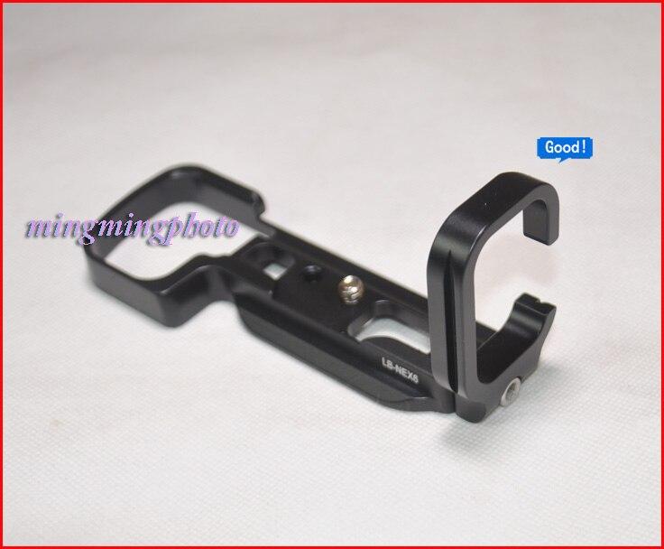 LB-NEX6 Quick Release Plate L Plate/Bracket Holder hand Grip for Sony NEX-6 NEX6 RRS SUNWAYFOTO Markins Compatible