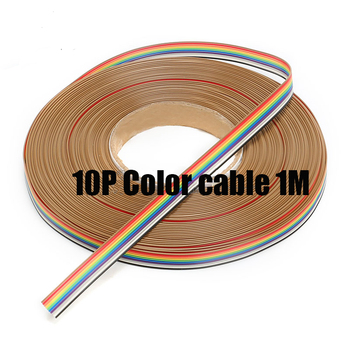 Online Shop Free shipping 10M 50 Way ribbon cable color 50P flat ...