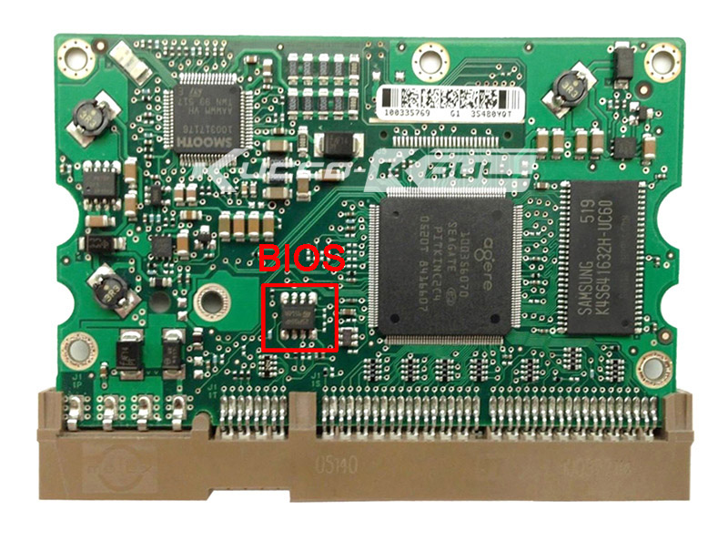 hard drive parts PCB logic board printed circuit board 100354297 for Seagate 3.5 IDE/PATA hdd data recovery hard drive repair