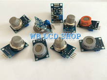 Gas detection module MQ-2 MQ-3 MQ-4 MQ-5 MQ-6 MQ-7 MQ-8 MQ-9 MQ-135 each of them 1pcs total 9pcs sensor for arduino kit