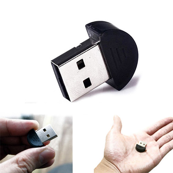 Tiny Bluetooth EDR Dongle Wireless Adapter USB 2.0 C QJY99