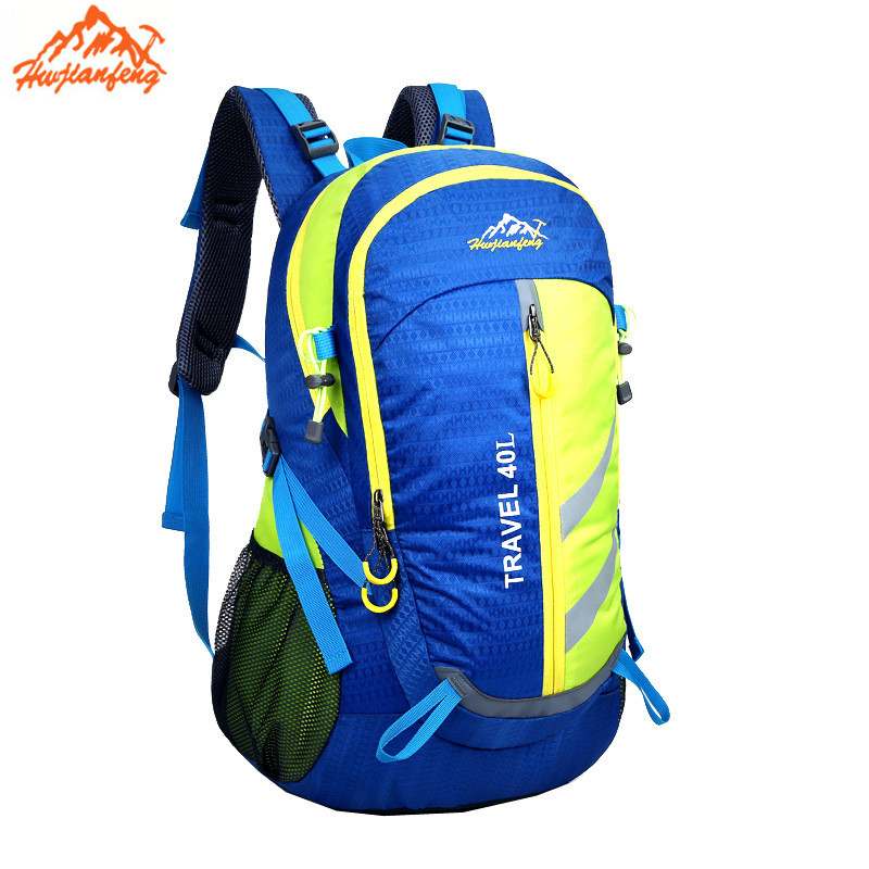 ФОТО 2017 New multi-functional mountaineering bags on foot travel bags of men and women backpack 40L