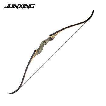 30-55 LBS Recurve Bow Length 58 inches Dark Green Riser for Right Hand User Archery Hunting Shooting