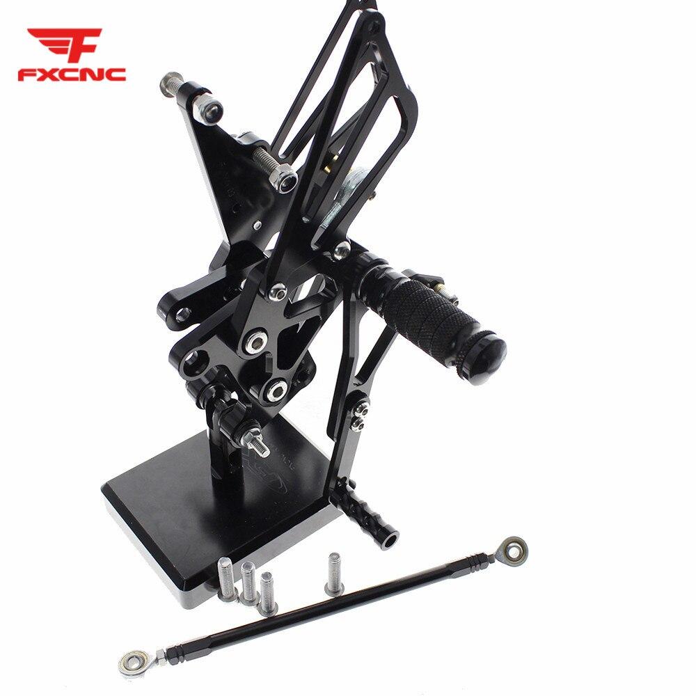 FOR TRIUMPH Speed Triple 509 595 955 1050 CNC Aluminum Alloy Motorcycle Footrest Footpeg Pedal Foot Peg Rearset Rear Set