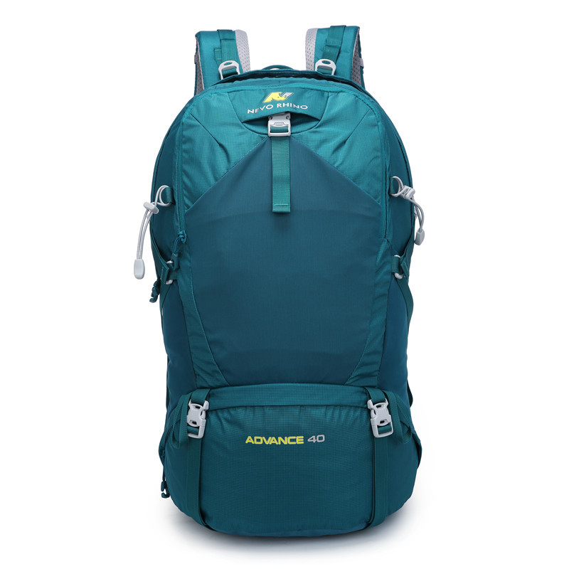 40L NEVO RHINO Waterproof Men's Backpack Unisex Travel Pack Bag Hiking Outdoor Mountaineering Climbing Camping Backpack For Male