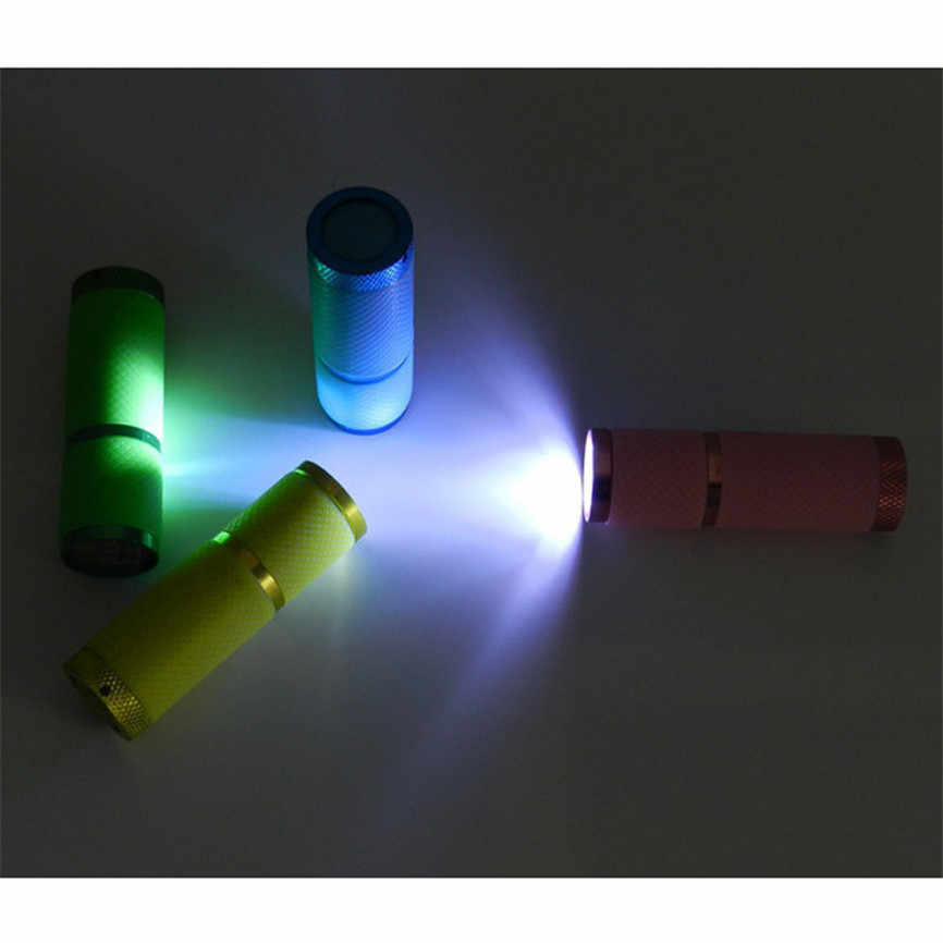 HOT CARPRIE Mini Super Bright ไฟฉายกันน้ำยางเคลือบ 9 ไฟฉาย LED Troch ทางการแพทย์ฉุกเฉิน Dropshipping 912