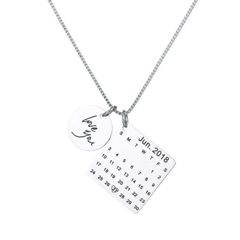 Personalized Custom Engraved Calendar