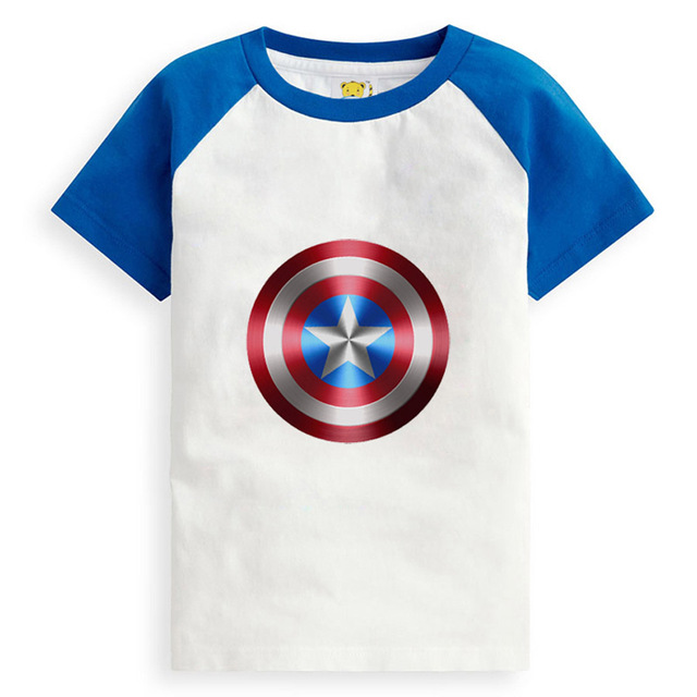 summer style t shirts for boys cotton printed children's t-shirt Unisex Kids t shirt teen clothing children tees tops for 14Y