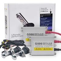 One Set H4 Xenon Kit G55 55w H4 Hi Lo Beam Slim HID Ballast Xenon Kit