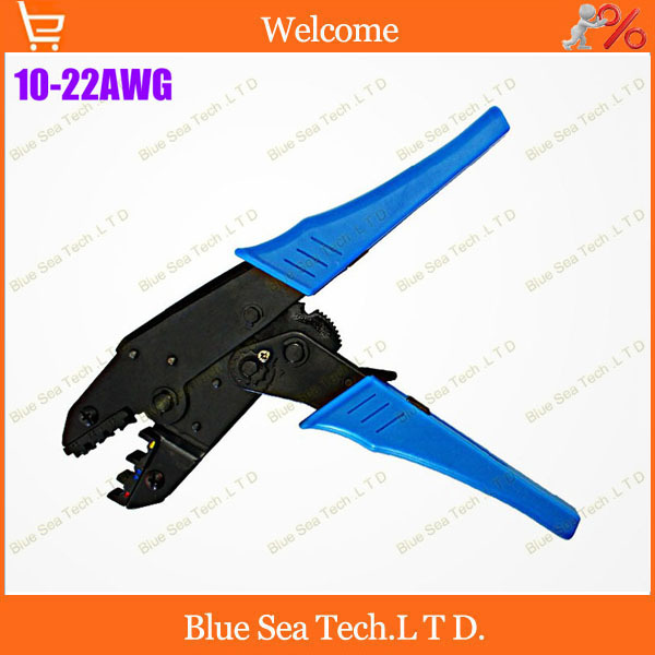 Free Shipping Crimping Tools Terminal crimping pliers For 22-10 AWG ,0.5-6.0mm2 of Insulated Terminals & Connector crimping tools copper nose terminal crimping wire cable for 10 3 awg 6 25mm2 for 20a to 80a terminals